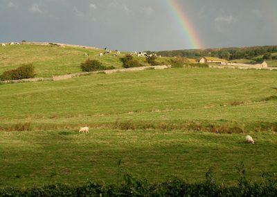 Rainbow over Chapel Hill, Abbotsbury