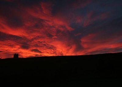 Sunset over Chapel Hill, Abbotsbury